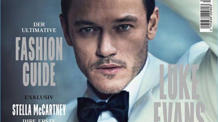 Luke Evans Goes Sartorial for GQ Style Germany Cover