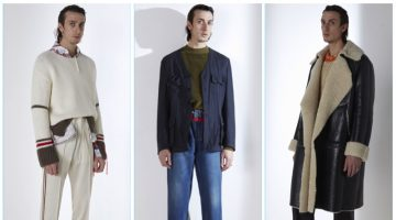 Maison Margiela presents its fall-winter 2017 men's collection.
