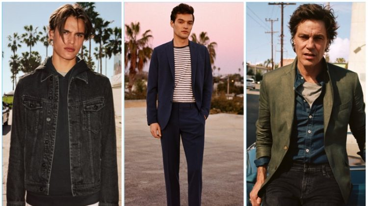 A Story of Uniqueness: Misha Lindes, Andre & Parker Van Noord Star in Mango Campaign