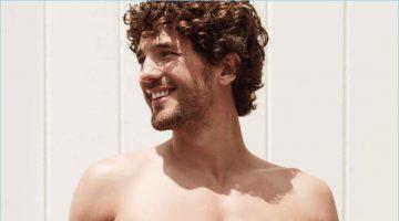 Sloggi enlists Max Rogers to model its spring-summer 2017 underwear line.