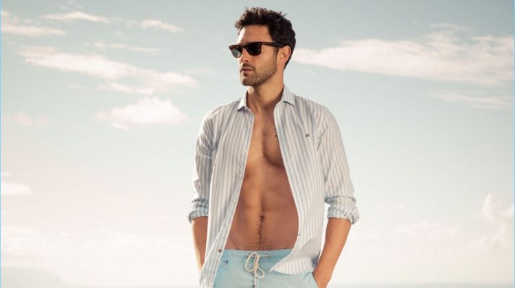Moving on to Fashion: Noah Mills Fronts Pedro del Hierro's Spring '17 Campaign