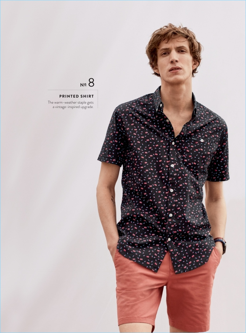 RVCA Party All the Time Print Short-Sleeve Shirt