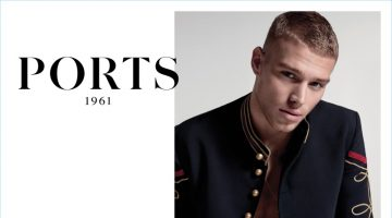 Matthew Noszka Rocks Military Fashions for Ports 1961's Spring '17 Campaign