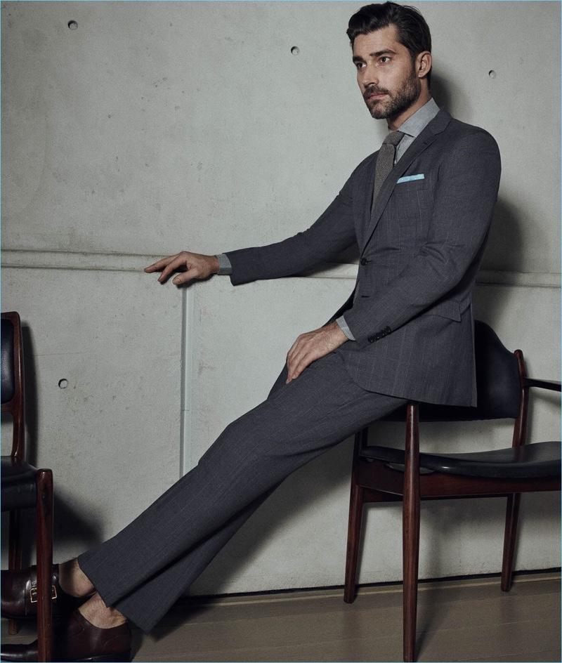 Ralph Lauren Purple Label Grey Suit