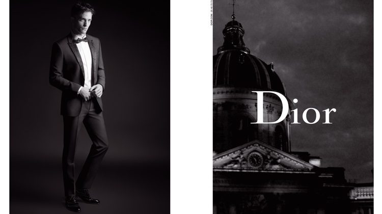 Robert Pattinson Goes Black Carpet Formal for Dior Homme Fall '17 Campaign