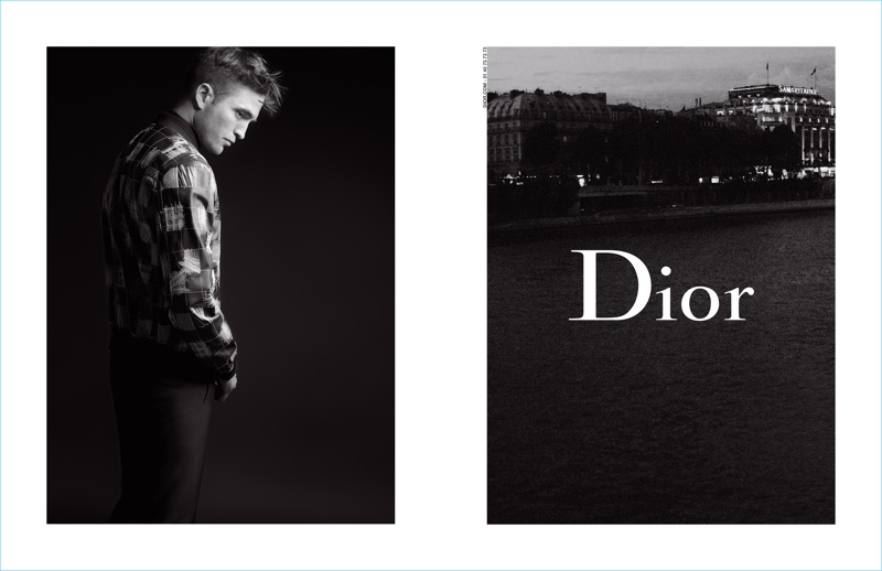 Actor Robert Pattinson reunites with Dior Homme for the brand's spring-summer 2017 campaign.