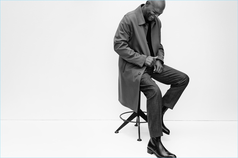 All smiles, Samuel L. Jackson fronts Brioni's spring-summer 2017 campaign.