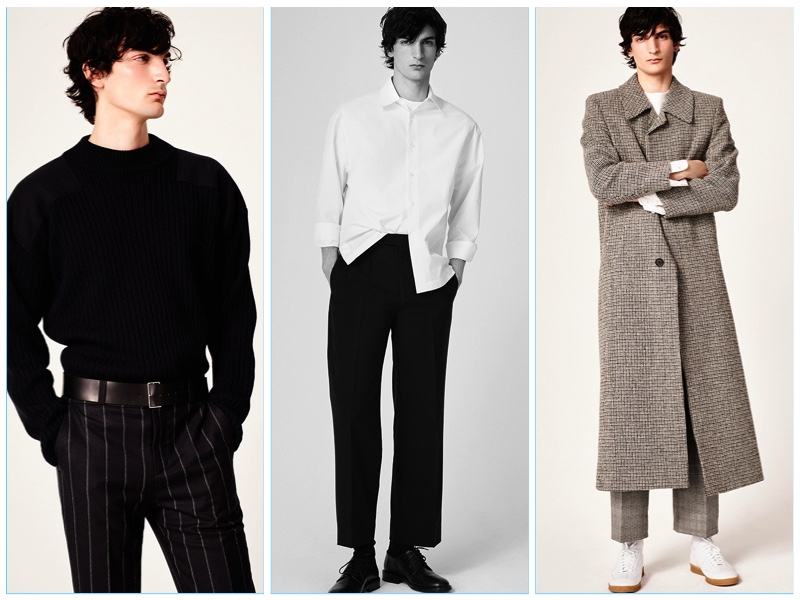 Sandro presents its fall-winter 2017 men's collection lookbook.