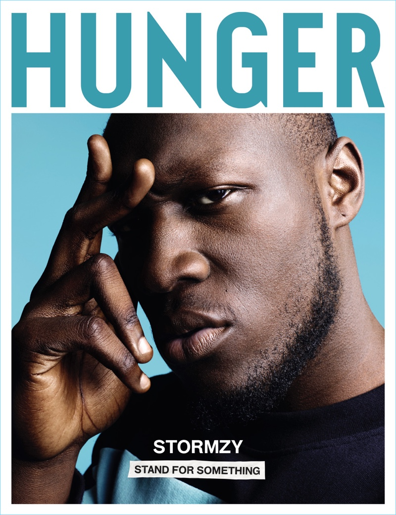 Stormzy covers the latest issue of Hunger magazine.