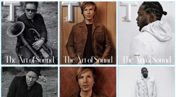 Music artists Tom Waits, Beck, and Kendrick Lamar cover the latest issue of T magazine.