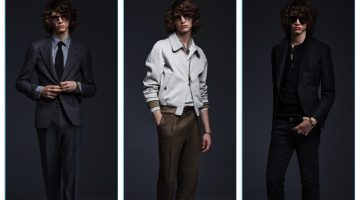 Tom Ford presents his spring-summer 2017 men's collection.