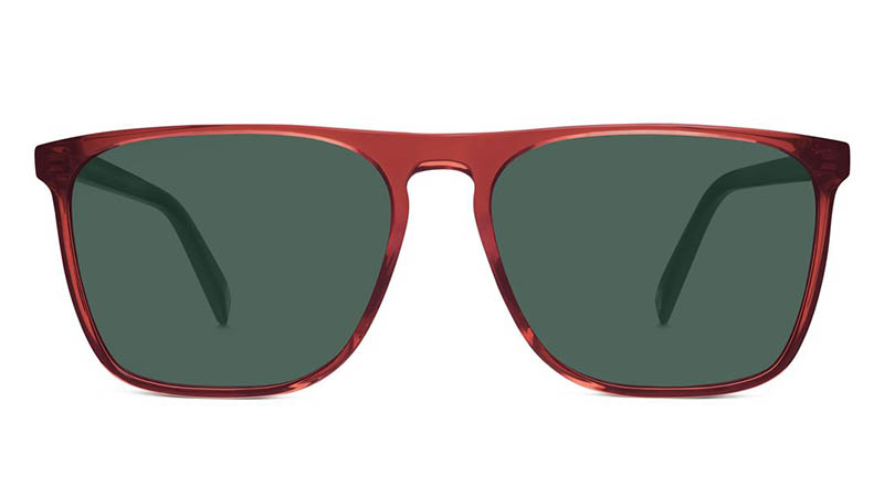 Warby Parker Moore Hickory Crystal Sunglasses $95