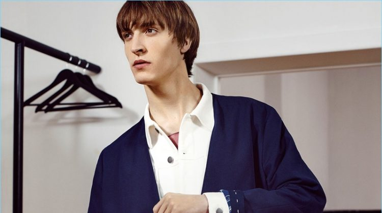 Zara Man Looks to Japan for Spring '17 Studio Collection
