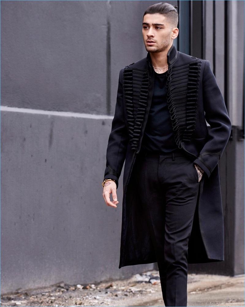 Zayn Malik Covers The Sunday Times Style Talks Second Album
