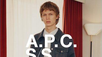 A.P.C. Puts Denim Basics Front & Center for Spring '17 Campaign
