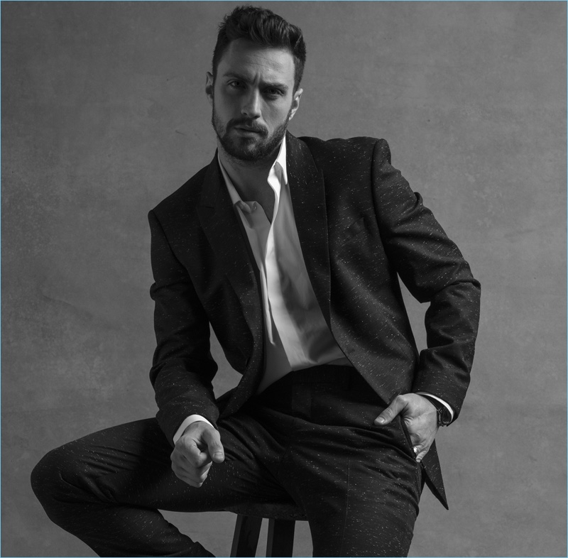 Givenchy Taps Aaron Taylor-Johnson for Gentleman Givenchy Fragrance Campaign