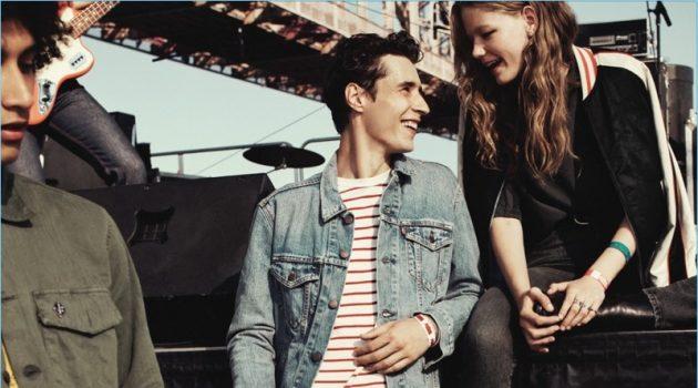 f34589085c7 Adrien Sahores   RJ Rogenski Embrace Festival Denim Style for Levi s  Campaign