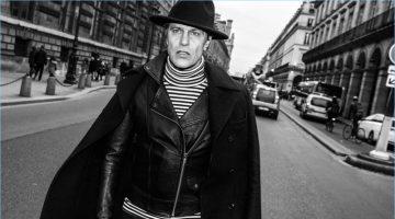 Andre Van Noord Travels to Paris for El Burgués' Fall '17 Campaign