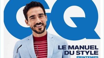 GQ France taps model Arthur Kulkov for the cover of its spring-summer 2017 Le Manuel du Style.