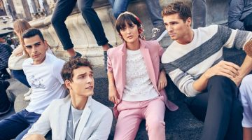Taking to Sicily for Beymen Club's spring-summer 2017 campaign, models Alexandre Cunha, Sam Rollinson, and Edward Wilding come together.