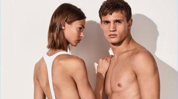 Swim '17: Julian Schneyder Rocks Calvin Klein's New Swim Shorts