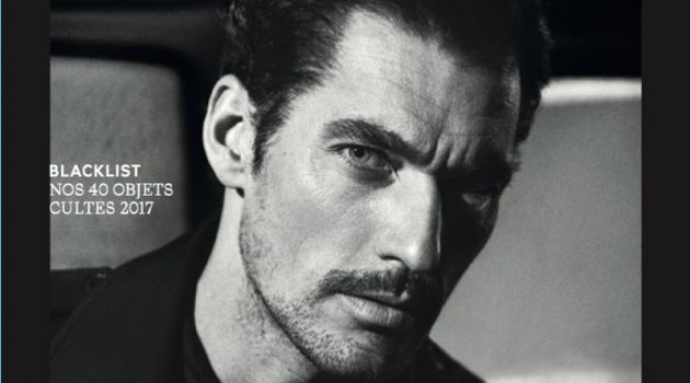 David Gandy covers the most recent issue of L'Officiel Hommes Switzerland.