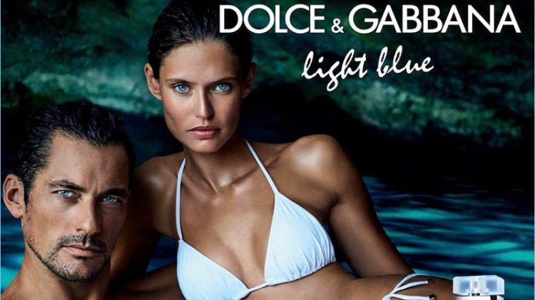 David Gandy & Bianca Balti Star in Dolce & Gabbana Light Blue eau Intense Fragrance Campaign