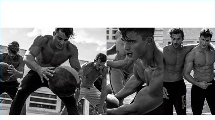 Active Spirit: Pietro Boselli + More Join EA7 in Rome for Spring '17