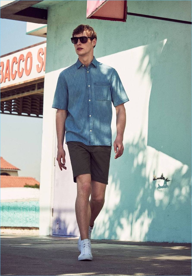 173c3399773 H M Men s Spring 2017 Style Guide  Vacation Cool. Vacation Cool  Roberto  Sipos Sports H M s Casual Spring Styles
