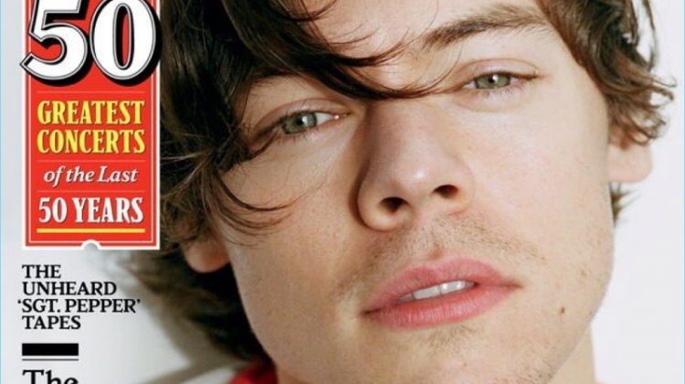 Harry Styles Covers Rolling Stone, Talks Solo Career