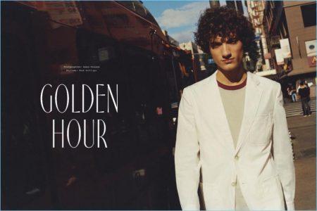 Golden Hour: Serge Rigvava for Le Monde D'Hermès