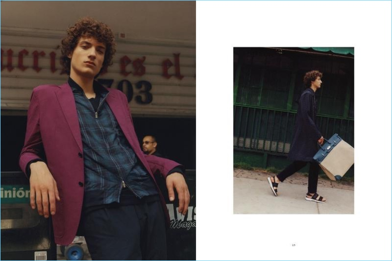 Le Monde D'Hermès enlists Serge Rigvava for a spring 2017 editorial.