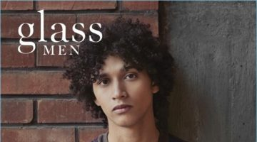 Jackson Hale covers the spring 2017 issue of Glass Men.