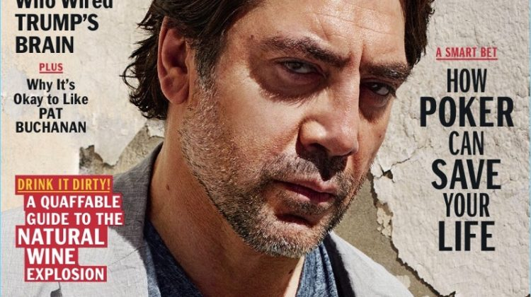 Javier Bardem Covers Esquire, Dishes on Love for Rock Music