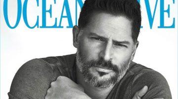 Joe Manganiello covers the April 2017 issue of Ocean Drive.