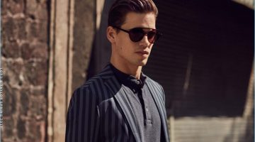 Contemporary Traveler: Mark Cox Dons Smart Styles for Lord & Taylor