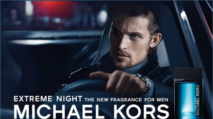 Wouter Peelen Stars in Michael Kors Extreme Night Fragrance Campaign