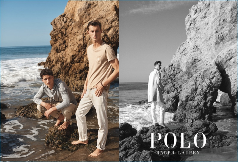 Simon Nessman and Kit Butler come together for POLO Ralph Lauren's spring-summer 2017 campaign.