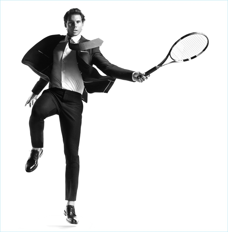 Rafael Nadal stars in Tommy Hilfiger Tailored's spring-summer 2017 campaign.