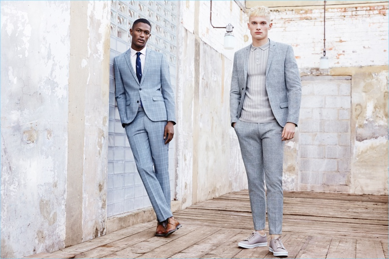 River Island presents its spring-summer 2017 tailoring collection.