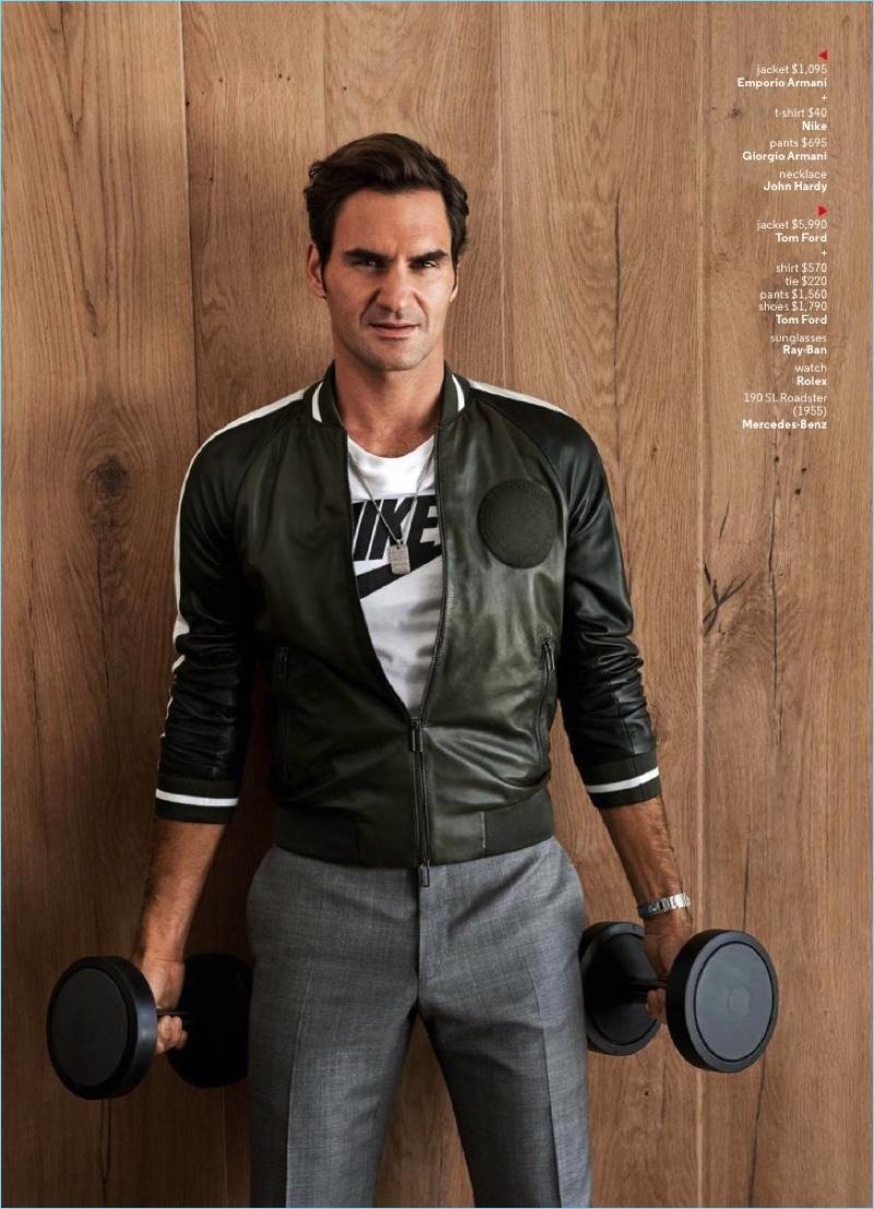Roger Federer Gq Photo Shoot