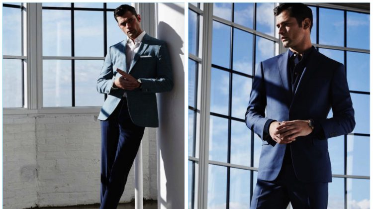 Well-Suited: Sean O'Pry Suits Up for Lord & Taylor