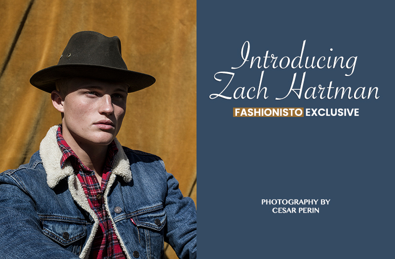 Fashionisto Exclusive: Zach Hartman photographed by Cesar Perin