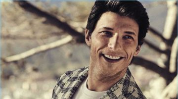 Andres Velencoso Models Sleek Summer Fashions for Vanity Fair Italia