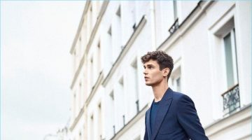 Arthur Gosse Steps Out for J.M. Weston S/S '17 Campaign