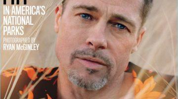 Wearing an AMI shirt, Brad Pitt covers GQ Style.