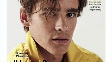 Brenton Thwaites covers the May 2017 issue of Style magazine.