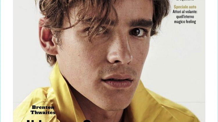 Brenton Thwaites Covers Style Magazine, Dons Salvatore Ferragamo