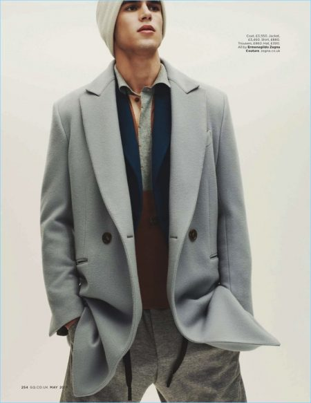 Tailor-Made for the Future: Victor Oliveira Dons Ermenegildo Zegna Couture for British GQ