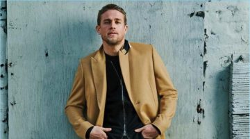 Brian Bowen Smith photographs Charlie Hunnam to promote King Arthur: Legend of the Sword.